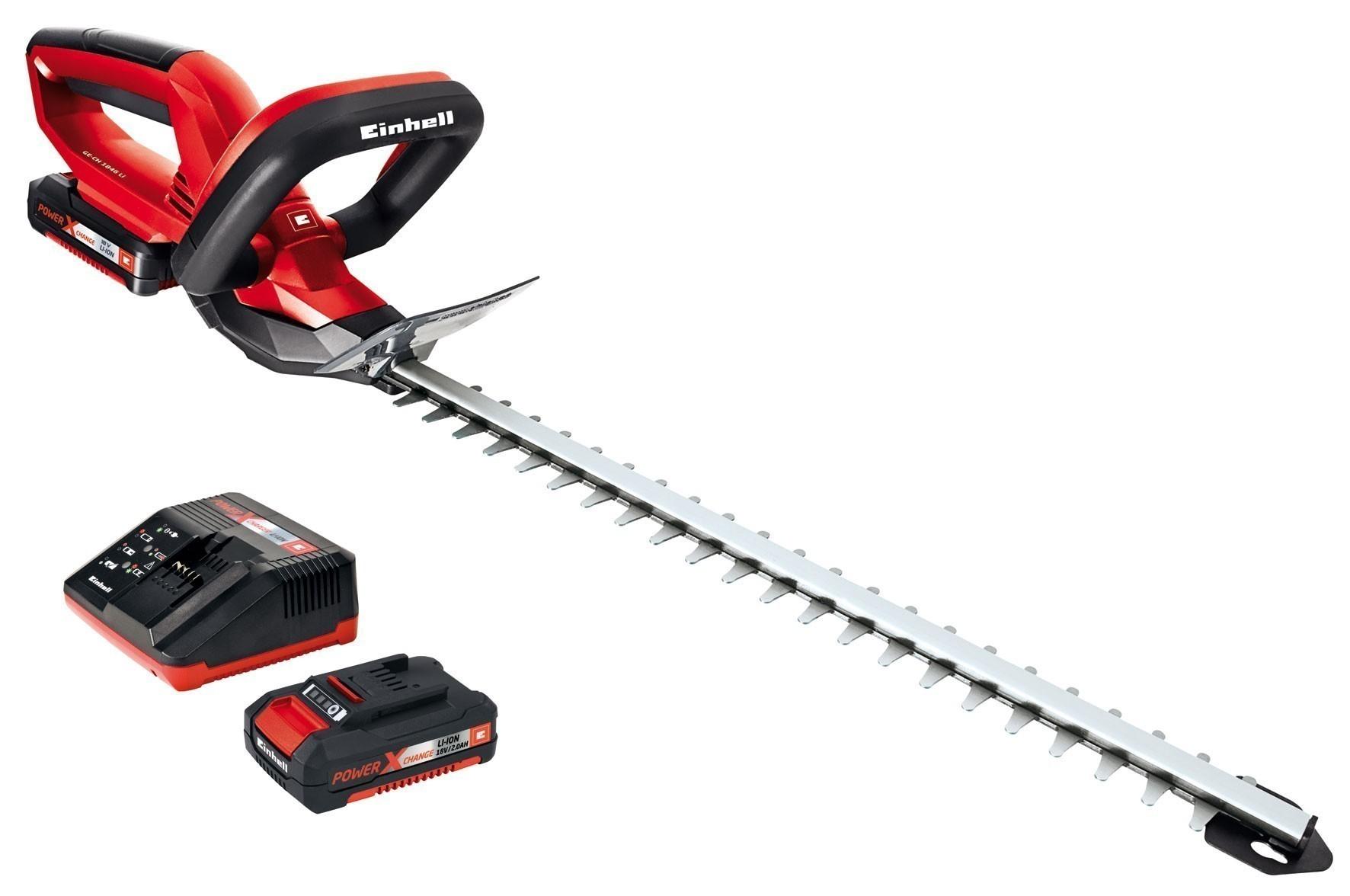 Einhell Akku-Heckenschere GE-CH 1846 Li Kit Power X-Change SL 46cm Bild 1