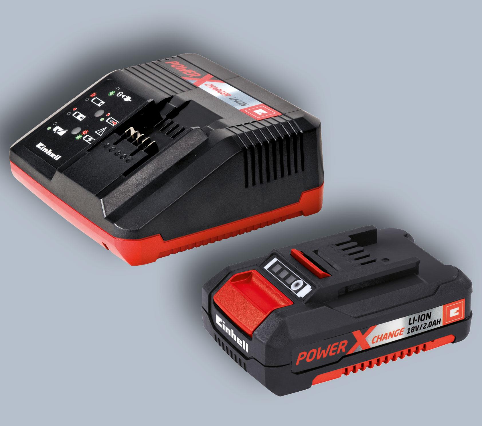 Einhell Akku-Heckenschere GE-CH 1846 Li Kit Power X-Change SL 46cm Bild 3