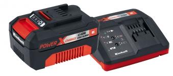 Einhell Power-X-Change Starter Kit Akku 18 V/4,0 Ah und Ladegerät