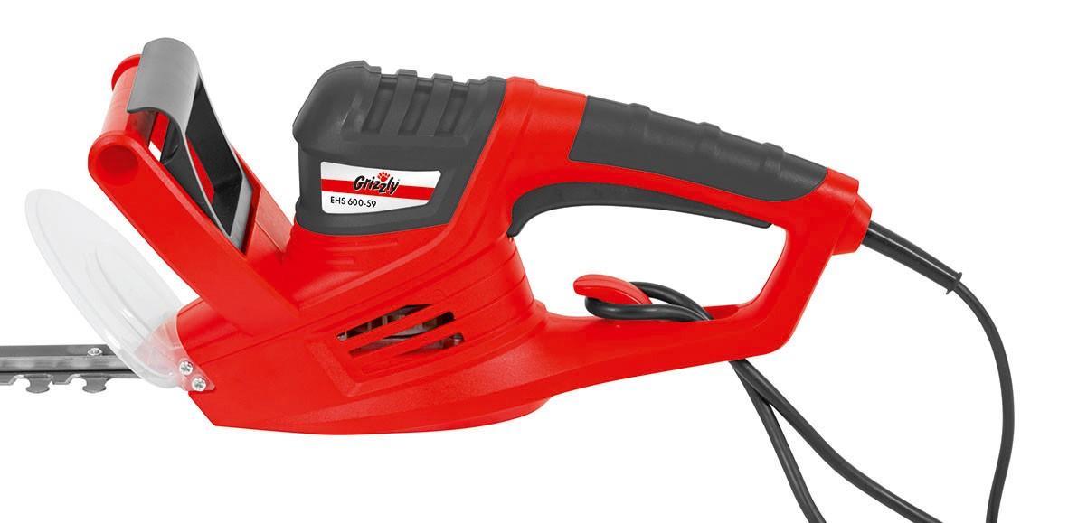 Elektro-Heckenschere Grizzly EHS 600-59 600 W SL55cm Bild 2