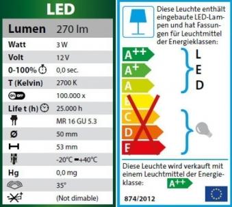 Heissner Gartenbeleuchtung Teichbeleuchtung LED 3-Set U403-T Bild 4