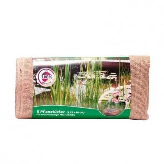 Heissner Pflanztuch für Teichbau 75x80cm 5 Stück Bild 1