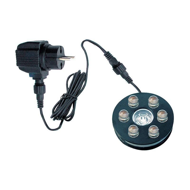 Teichbeleuchtung LED / Heissner Unterwasser LED-Ring 6-fach U509-T Bild 1