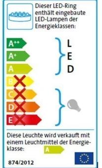 Teichbeleuchtung LED / Heissner Unterwasser LED-Ring 6-fach U509-T Bild 4