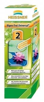 Algenfrei universal heissner teichpflege 500ml bei for Gartenteich algenfrei