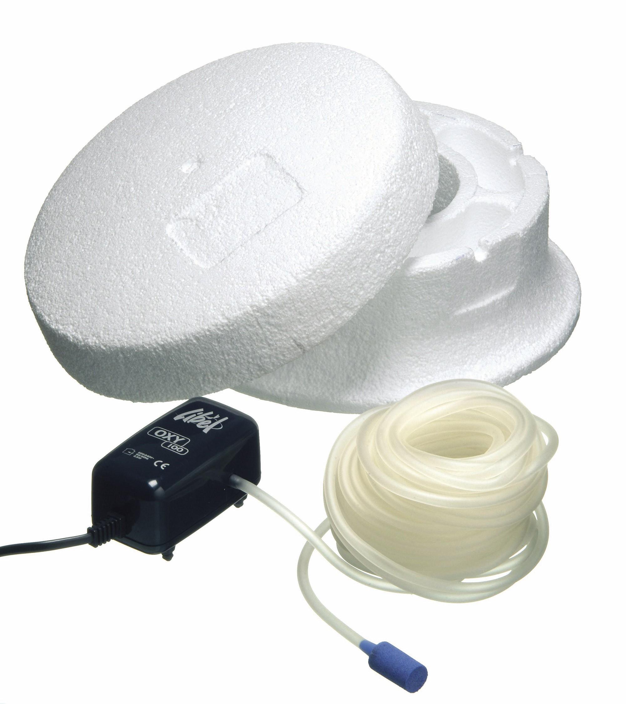 Teich Eisfreihalter Ubbink Basic Set 25 mit Pumpe Oxy 100 l/h Bild 1