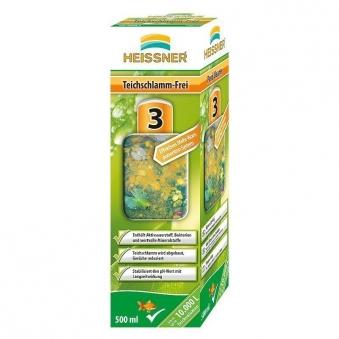 Teichschlamm-Frei Heissner Teichpflege 250ml Bild 1