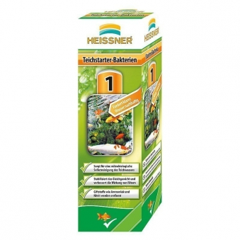Teichstarter-Bakterien Heissner Teichpflegemittel 250ml Bild 1