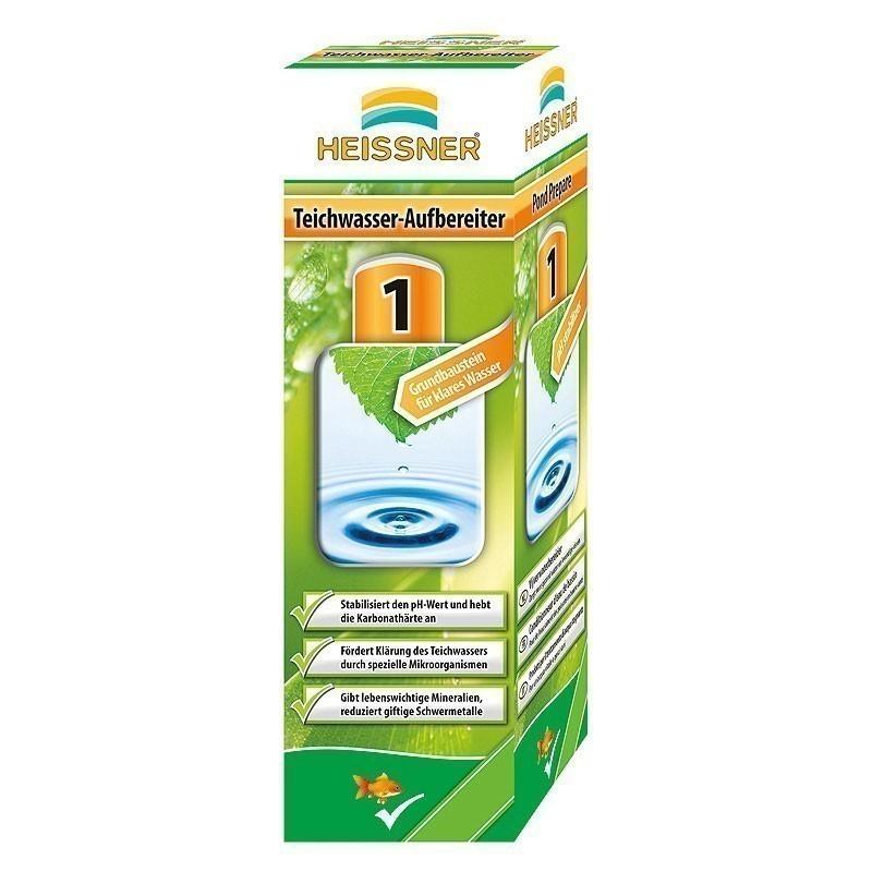 Teichwasser-Aufbereiter Heissner Teichpflegemittel 250ml Bild 1