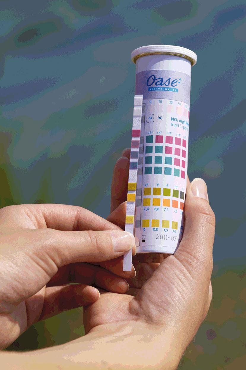 Wasseranalyse Oase QuickSticks 6in1 Bild 2