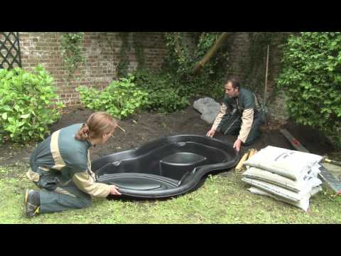 Gartenteich / Teichbecken Ubbink Calmus SI HDPE 145 L 120x90cm Video Screenshot 2033