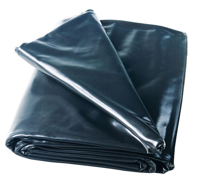 Heissner PVC Teichfolie 0,5mm schwarz 4x4m Bild 1
