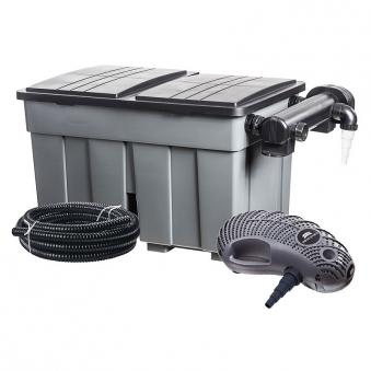 Durchlauffilter Eco / Mehrkammerfilter-Set 24m³ Heissner FPU24000 Bild 1