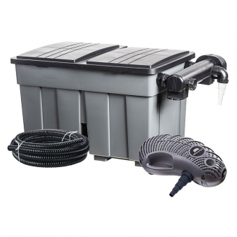 Durchlauffilter Eco / Mehrkammerfilter-Set 36m³ Heissner FPU36000 Bild 1