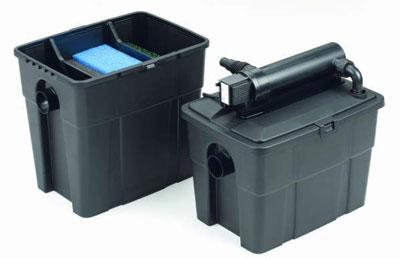 Durchlauffilter Set / Mehrkammerfilter UVC Pontec Multiclear Set 8000 Bild 1
