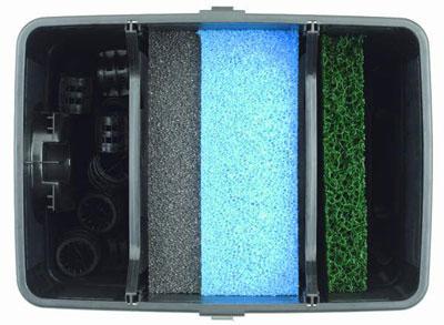 Durchlauffilter Set / Mehrkammerfilter UVC Pontec Multiclear Set 8000 Bild 2