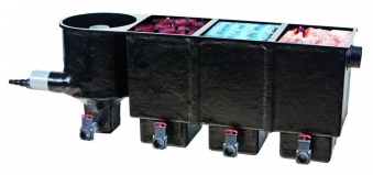 Durchlauffilter Heissner Apollo XXL mit Filtermaterial F323-00