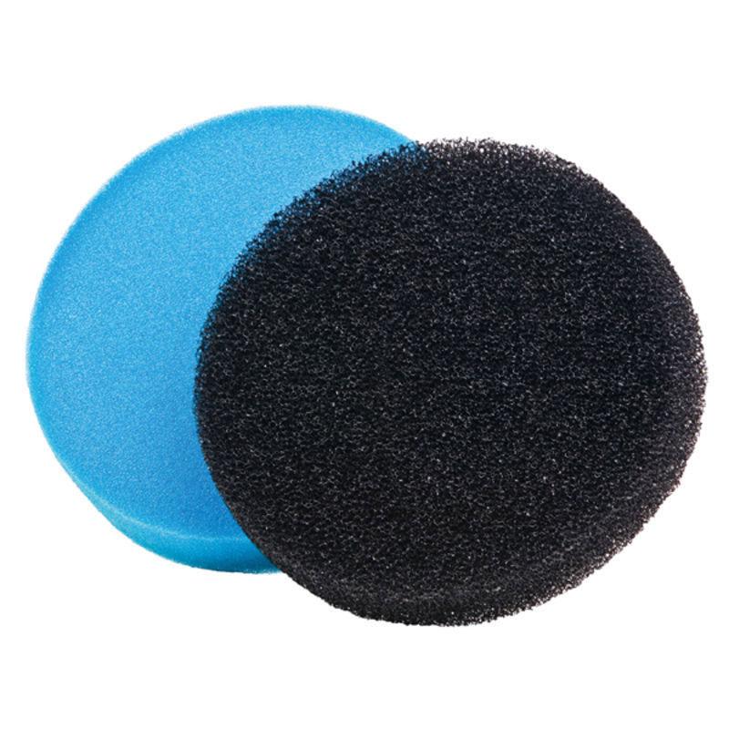 Filterschwamm / Heissner Ersatzschwämme rund blau/schwarz Ø22,5cm 2 St Bild 1