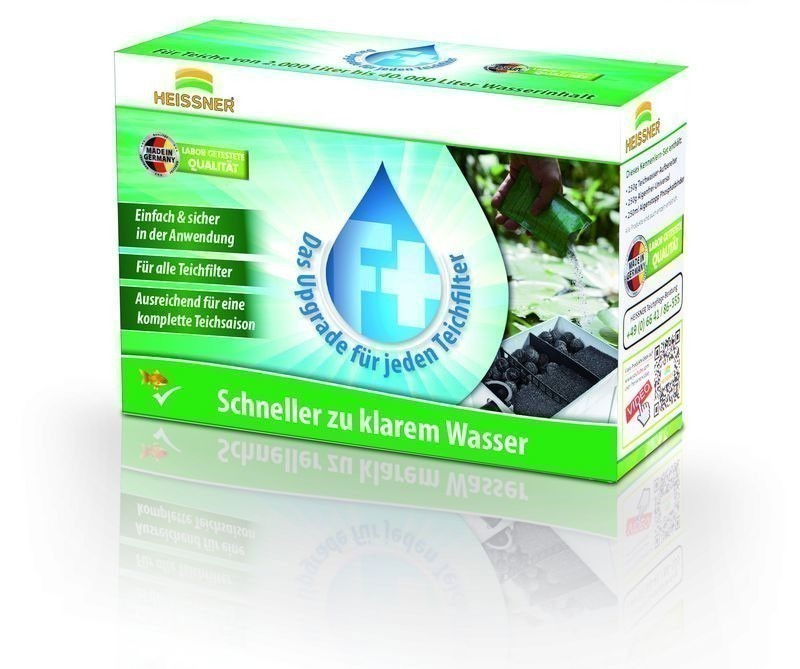Heissner Teichfilterverstärker Upgrad F-PLUS / Klarwasser-Filter Bild 1