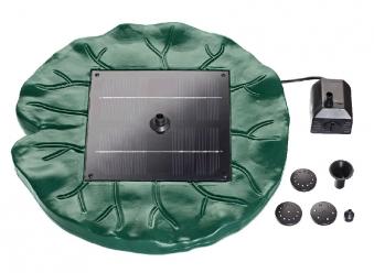 Teichpumpe / Wasserspielpumpe Solar PondoSolar Lily Island schwimmend Bild 2