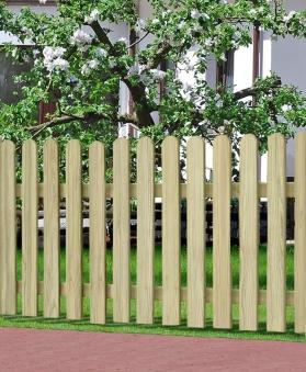 Garten Zaun / Holzzaun Bielefeld gerade kdi 180 x 80 cm Bild 1