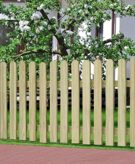 Garten Zaun / Holzzaun Bielefeld gerade kdi 180 x 100 cm