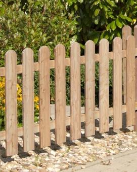 Zaun / Vorgartenzaun Lärche 20x120mm Zaunelement 180x80cm Bild 1