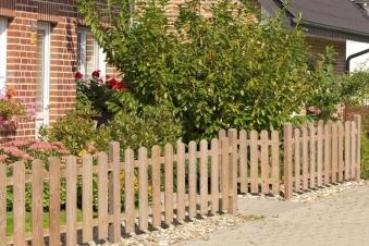 Zaun / Vorgartenzaun Lärche 20x120mm Zaunelement 180x80cm Bild 2