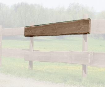 Zaunbohle / Rancherzaunbohle Kiefer kdi braun Länge 240cm Bild 1