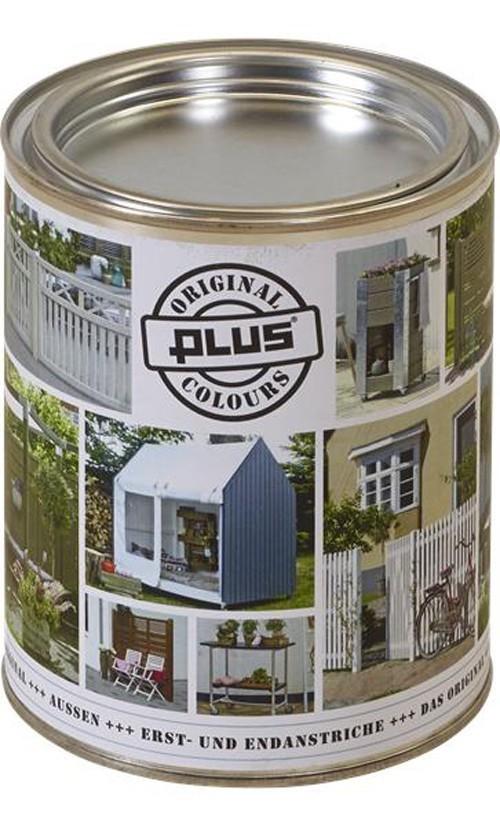 Holzlasur / Holzschutzlasur Colour Plus 0,75 Liter grau-braun Bild 1