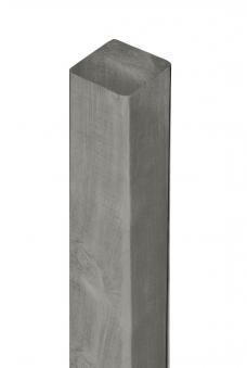 Zaunpfosten / Kantholz gekappt KDI grau 9x9cm Länge 90cm Bild 1