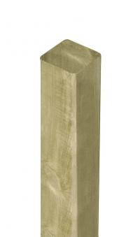 Zaunpfosten / Kantholz gekappt kdi grün 9x9cm Länge 90cm Bild 1