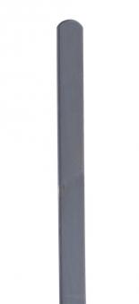 Zaunpfosten Rundkopf Dimplex lasiert basaltgrau 9x9x100cm Bild 1