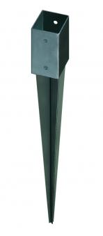 GAH Alberts Einschlagbodenhülse für Vierkantholzpfosten 9x9cm