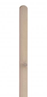 Zaunpfosten Rundkopf Dimplex lasiert sandton 9x9x190cm Bild 1