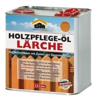 BM Massivholz Holzpflegeöl Lärche 2,5 Liter