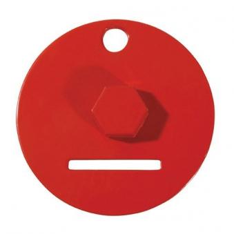 GAH Alberts Einschraubwerkzeug für Flechtzaunhalter rot