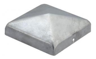 GAH Alberts Pfostenkappe für Holzpfosten 7x7cm feuerverzinkt Bild 1