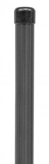GAH Alberts Zaunpfosten Stahl anthrazit 200x3,4cm Bild 1
