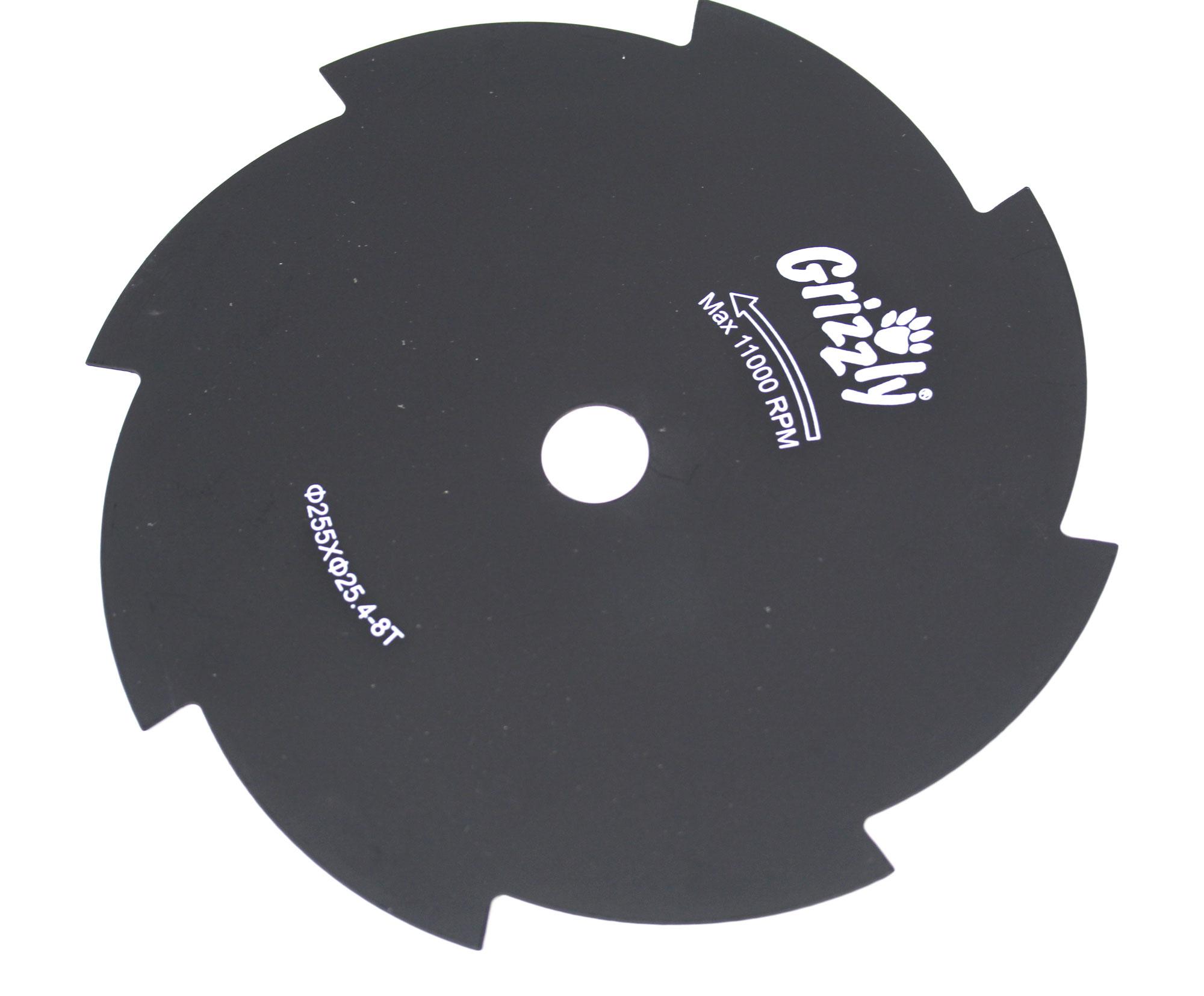 Ersatz 8-Zahnmesser für Grizzly Motorsense MTS 43-14 E2 Bild 1