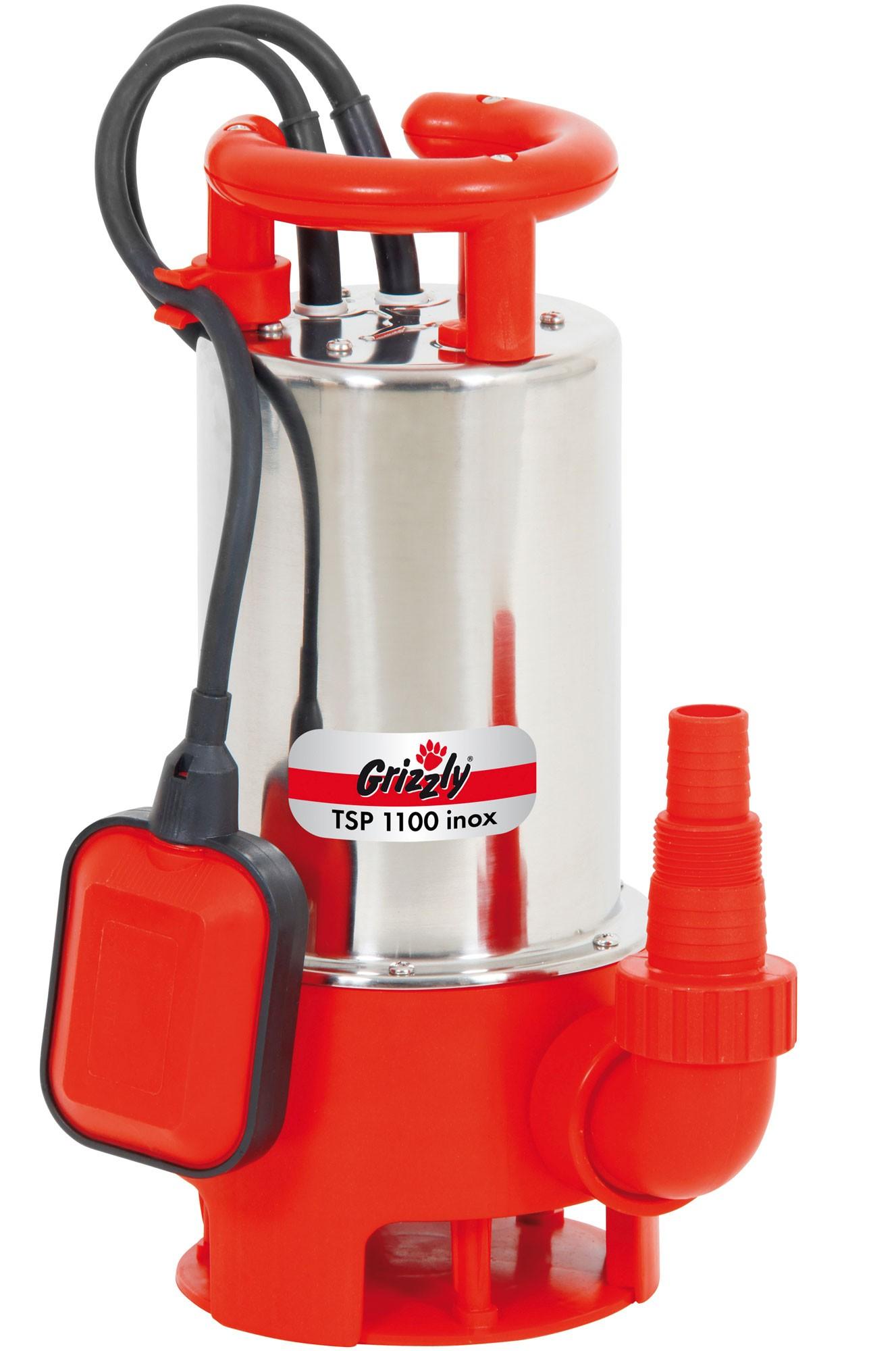 Schmutzwasser Tauchpumpe Grizzly TSP 110 Inox Bild 1