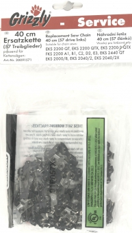 Ersatzkette Oregon 40 cm für Grizzly Kettensäge