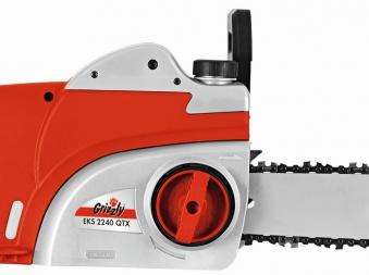 Elektro Kettensäge Grizzly EKS 2240 QTX 2200 Watt Bild 2