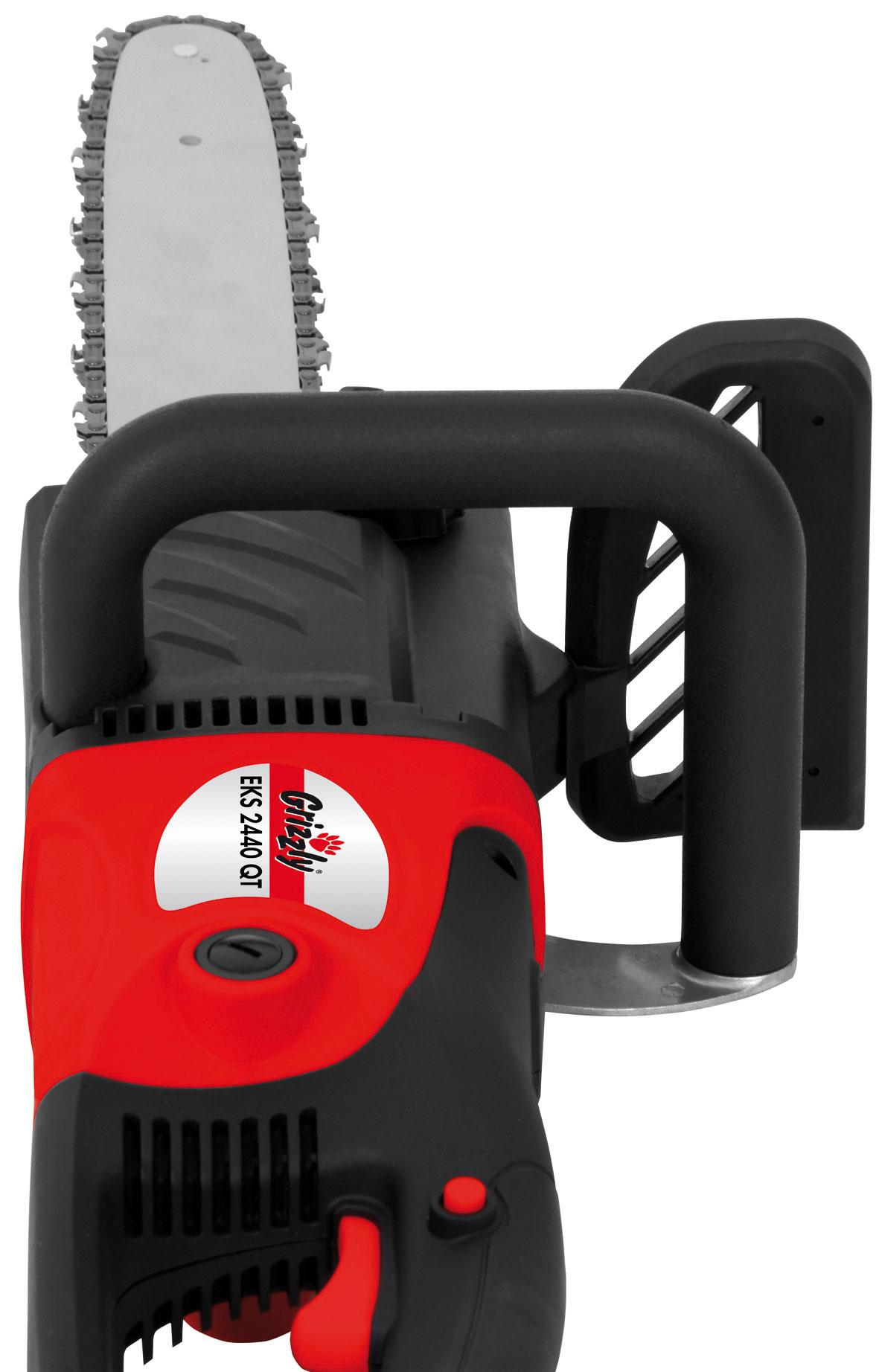 Elektro Kettensäge Grizzly EKS 2440 QT 2400 Watt Bild 2