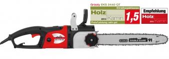 Elektro Kettensäge Grizzly EKS 2440 QT 2400 Watt Bild 1