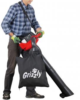 Benzin Laubbläser / Laubsauger Grizzly BLSB 3030 1,0 kW Bild 4