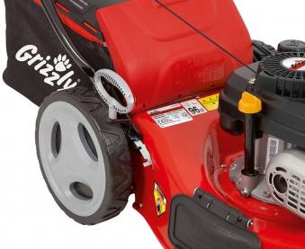 Benzin Rasenmäher Grizzly BRM 46 141 A OHV Trike 2,0kW SB 46cm Bild 4