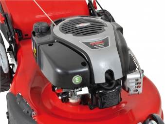 Benzin Rasenmäher Grizzly BRM 56 161 BSAT Trike B&S Motor 2,61 kW 56cm Bild 4