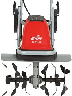 Elektro Gartenhacke Grizzly EGT 1440 1400 Watt Bild 3