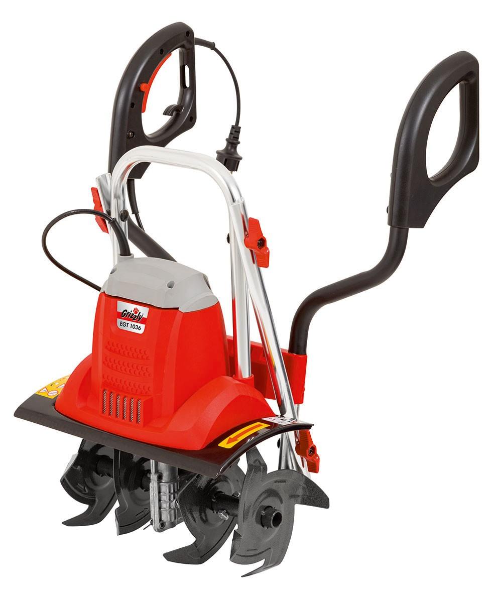 Elektro Motorhacke / Gartenfräse Grizzly EGT 1036 1000 Watt Bild 2